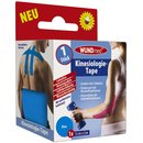 Wundmed Kinesiologie Tape 5m x 5 cm blau