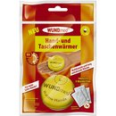 Wundmed hand and pocket warmer round box with 3 pads