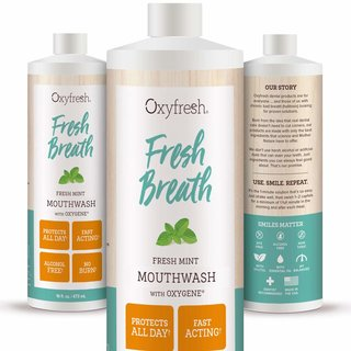 Oxyfresh Mundspülung Fresh Mint 473ml