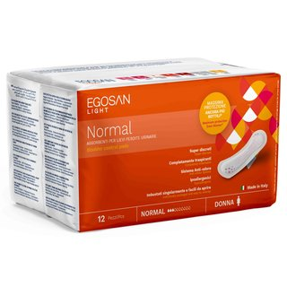 Santex Egosan light normal Inkontinenz Einlagen 12er Packung