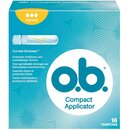 OB Compact Applicator Tampon Normal 16er Packung